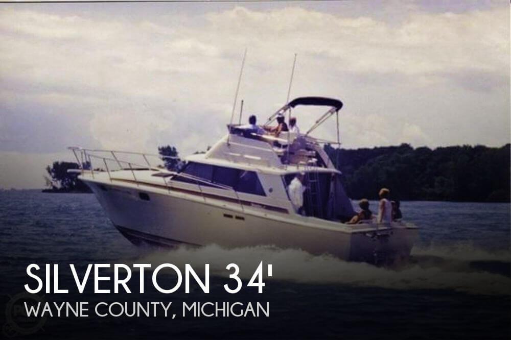 1982 Silverton 34 Convertible