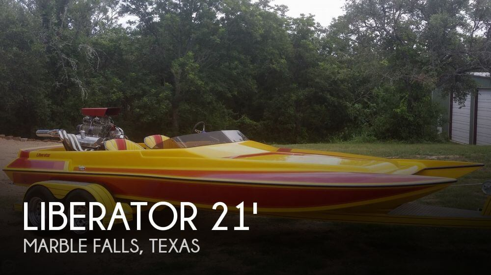 1994 Liberator 21 Drag Boat