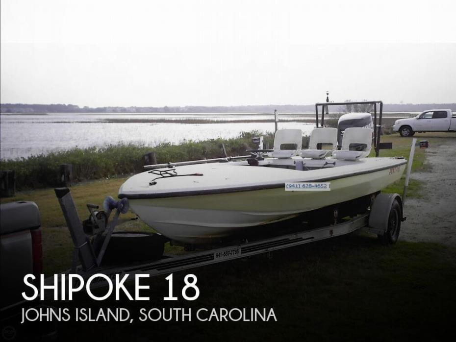 1991 Shipoke Boatworks 18