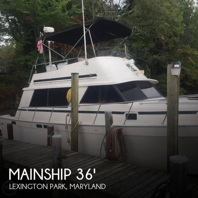 1987 Mainship 36 Sedan Bridge