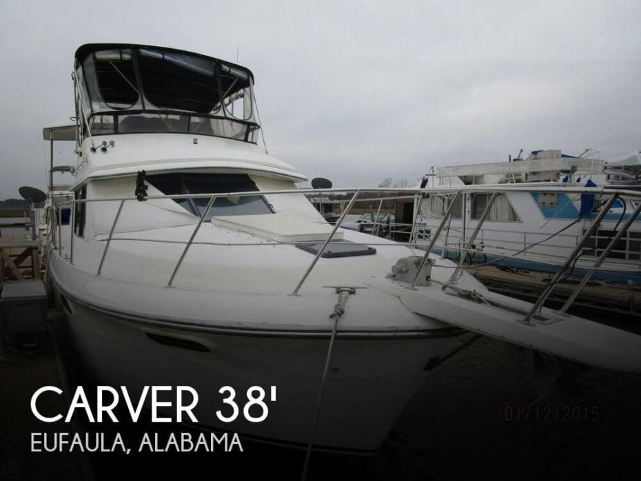 1988 Carver 3807 Aft Cabin