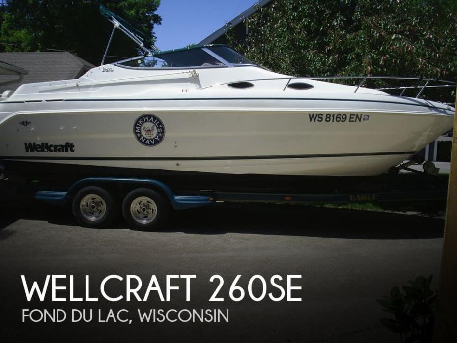 1998 Wellcraft 260SE
