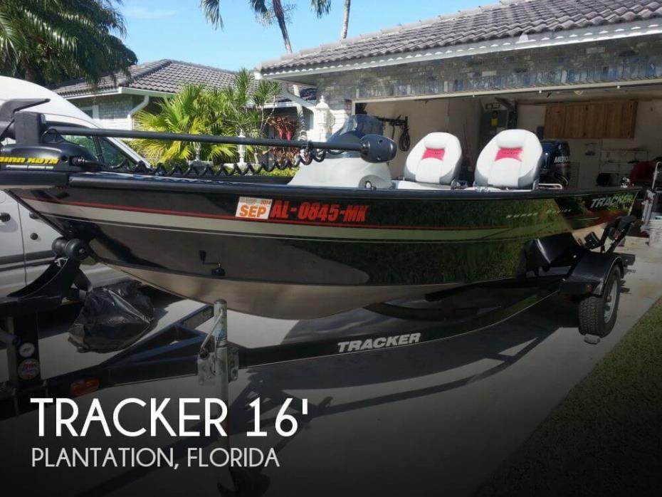 2013 Tracker Super Guide V-16 SC