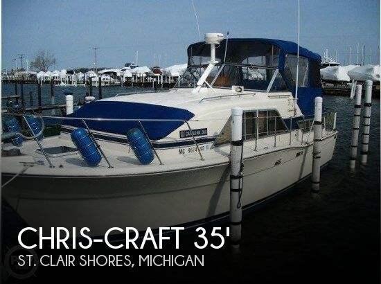 1986 Chris-Craft Catalina 350