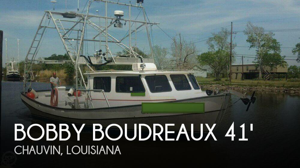 2007 Bobby Boudreaux 41 Fiberglass Lafitte Skiff