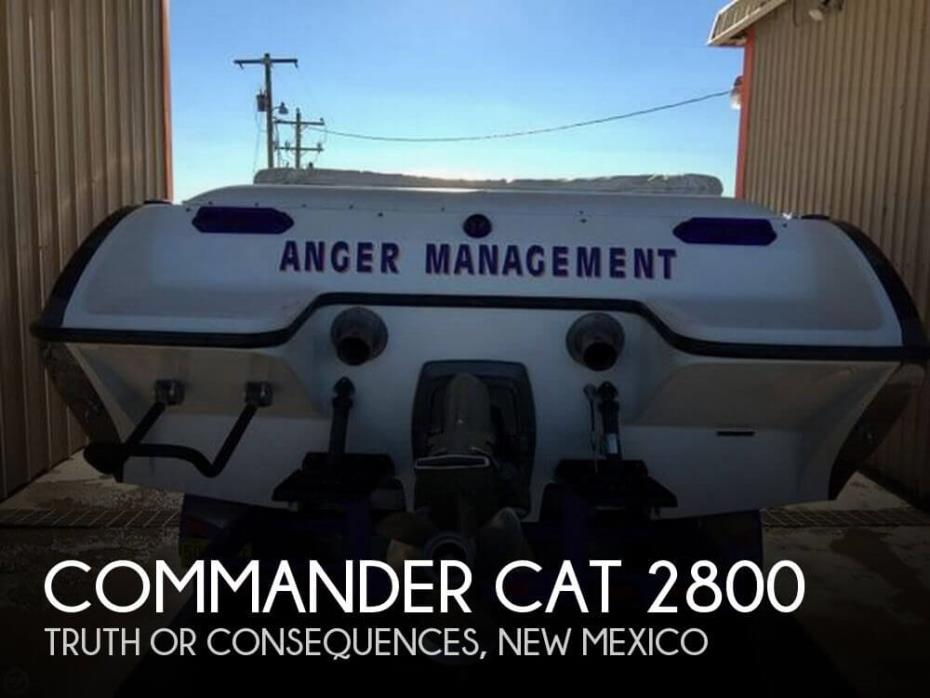 2002 Commander CAT 2800