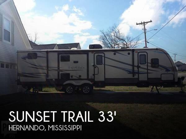2015 CrossRoads Sunset Trail Trail Rezerve 33BD