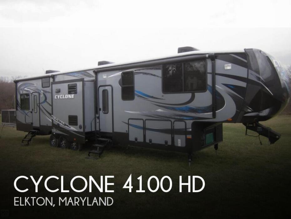 2015 Heartland Cyclone 4100 HD