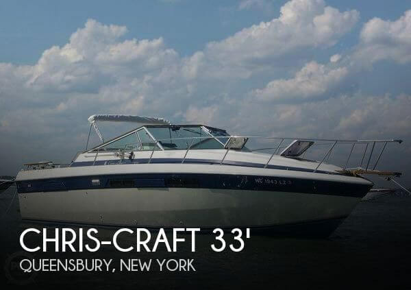 1984 Chris-Craft 332 Commander