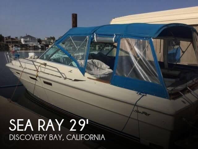 1980 Sea Ray 300 Weekender