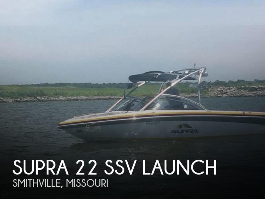 2008 Supra 22 SSV Launch