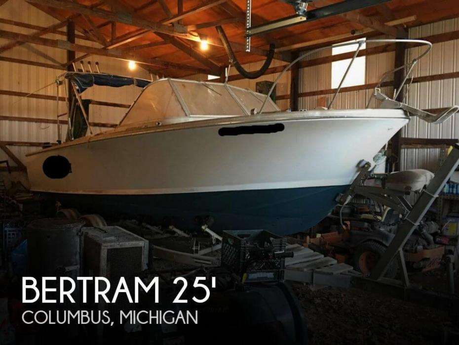 1963 Bertram 25 Mark II Convertible Sport Cruiser
