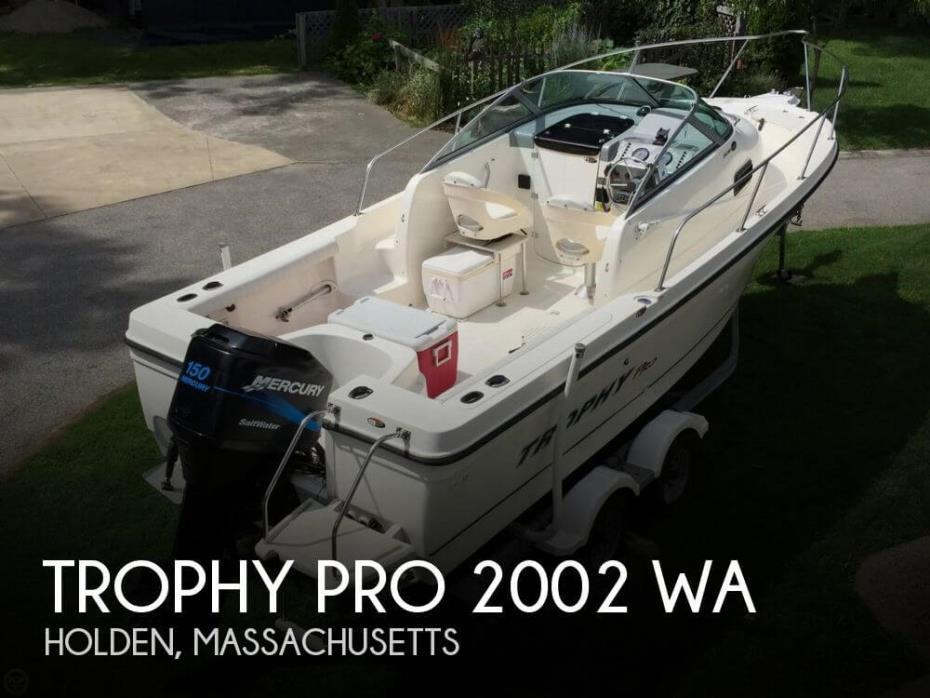 2004 Trophy Pro 2002 WA