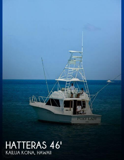1976 Hatteras 46 Convertible - 2005 Engines and Rebuild