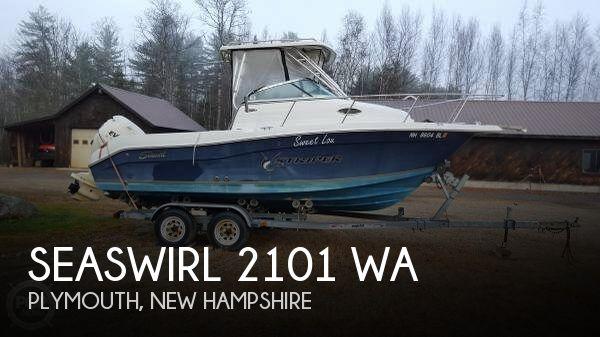 2006 Seaswirl 2101 WA