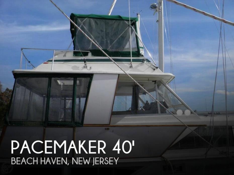 1976 Pacemaker 40 Flybridge Motoryacht