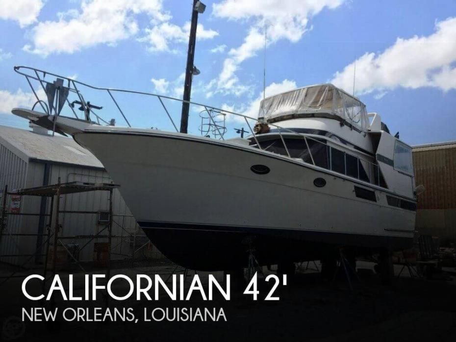 1987 Californian 42 Double Cabin Motoryacht LRC
