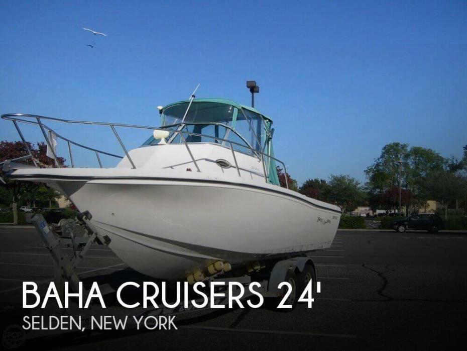 2002 Baha Cruisers 240 WAC