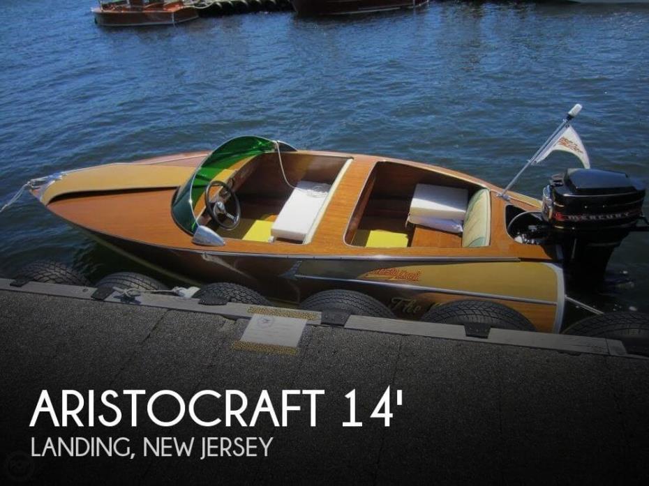 1956 Aristocraft 14 Torpedo