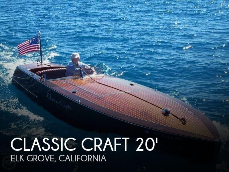 1995 Classic Craft 20 Sport