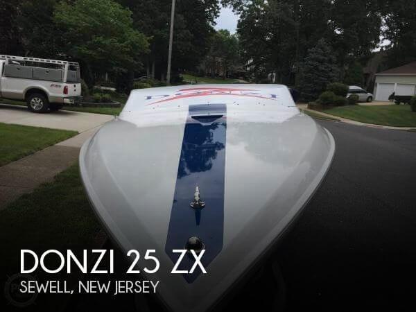 1987 Donzi 25 ZX