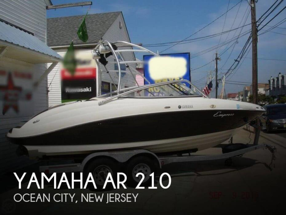 2011 Yamaha AR 210