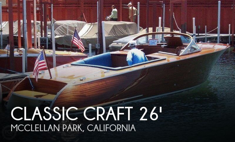 2007 Classic Craft 26 Legacy