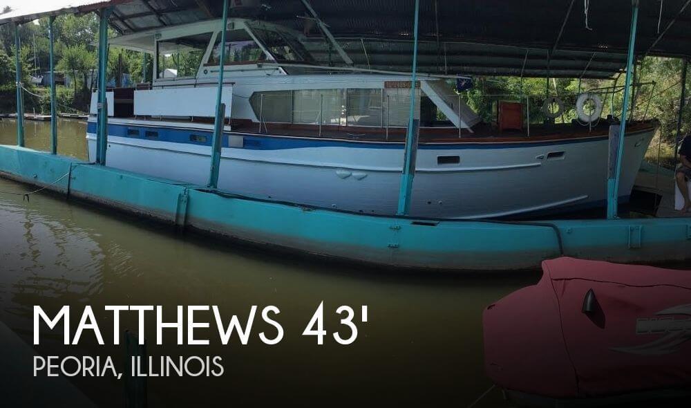 1965 Matthews 43 Flushdeck
