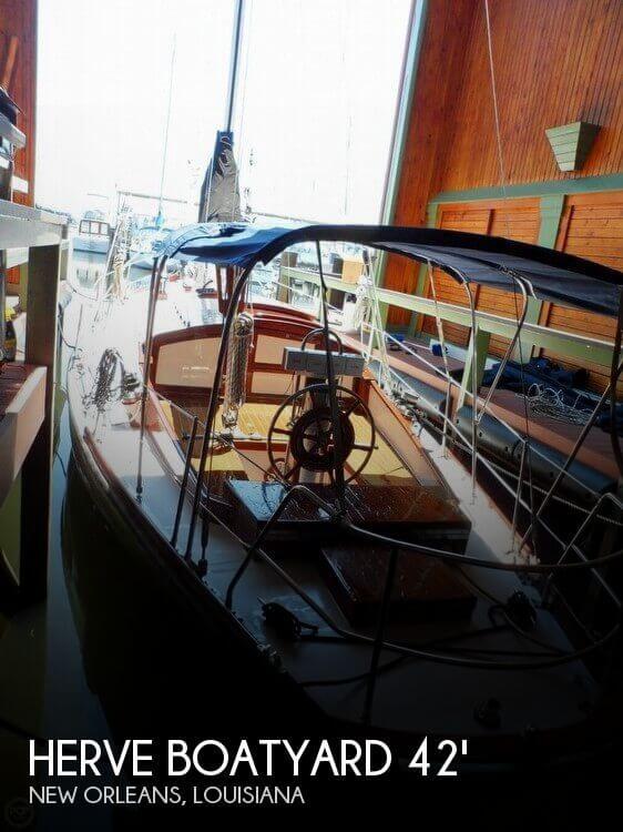 1962 Herve Boatyard 42 French Sloop Racer